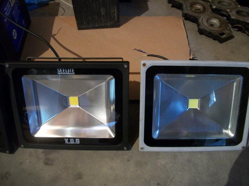 Seelite vs. Cheap EBay light