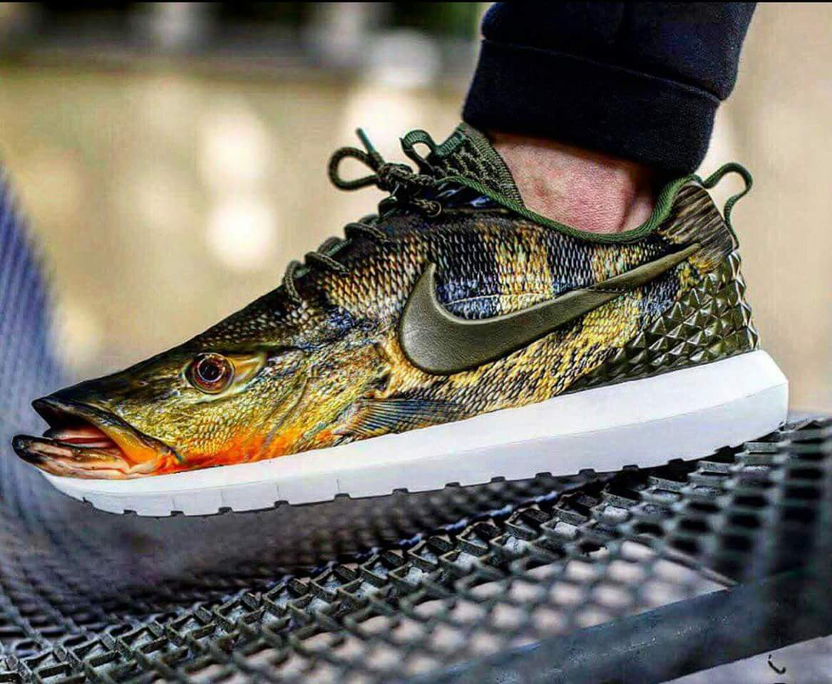 Nike Shoes That Look Like Bass Fish