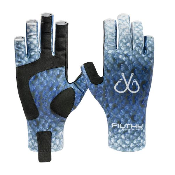 Filthy Anglers Fingerless Fishing Gloves